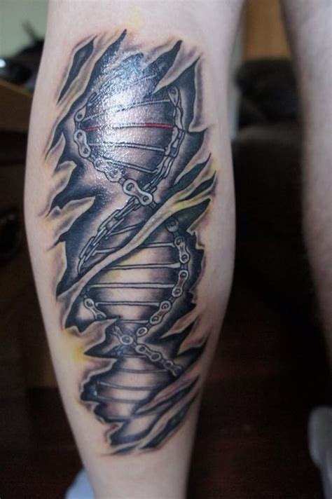 double helix tattoo designs 99 leg designs to help you get a leg up on your
