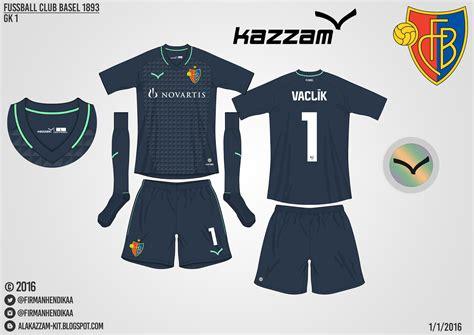 Celana Merah Vt fc basel home away gk 1 gk 2 kits kazzam alakazzam kit design