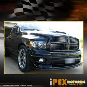 2002 2005 dodge ram 1500 2500 3500 black headlight black