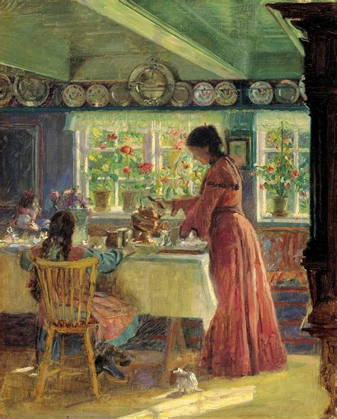 painting at home laurits tuxen artists art museums of skagen