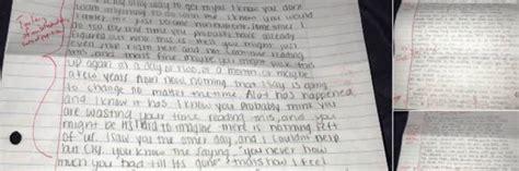lettere di scuse per lui l ex fidanzata gli scrive una lettera per scusarsi lui