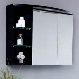 Bathroom Medicine Cabinets With Lights Shop Fresca 31 1 2 In W Lights Recessed Medicine Cabinet At Lowes