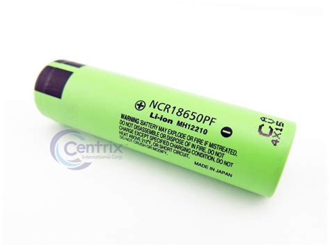 Panasonic 18650 Li Ion High Drain Hybrid Imr Battery 2900mah 36v With 2x panasonic ncr18650pf ga 10a high drain hybrid 2900mah 3 7v imr flat top li ion battery