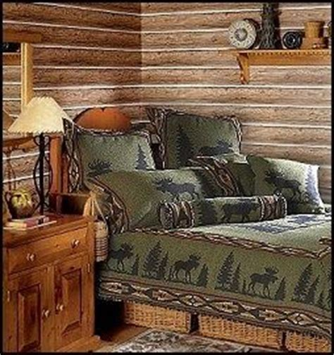 Lodge Bedroom Decorating Ideas by Wilderness Decor On Rustic Cabin Decor Lodge