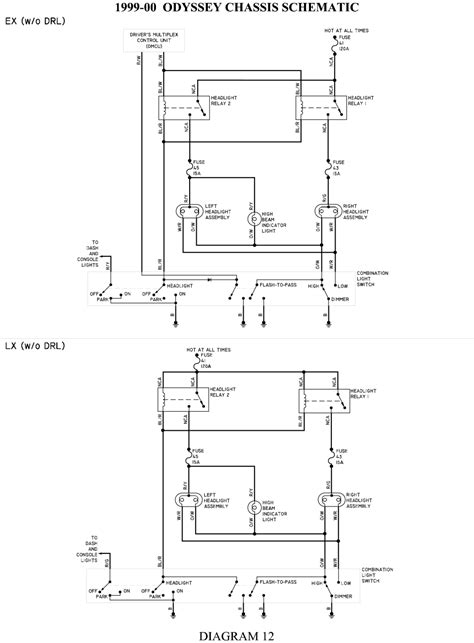 wiring diagram headlight dimmer switch wiring diagram