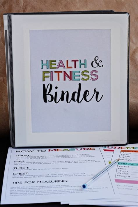 Health Binder Printables
