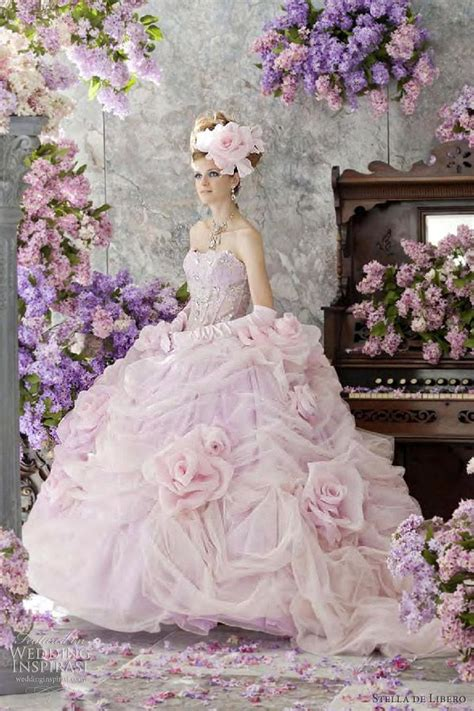 Stelan De Pink Monkey stella de libero wedding dresses the lilac bridal collection wedding gowns and pink wedding