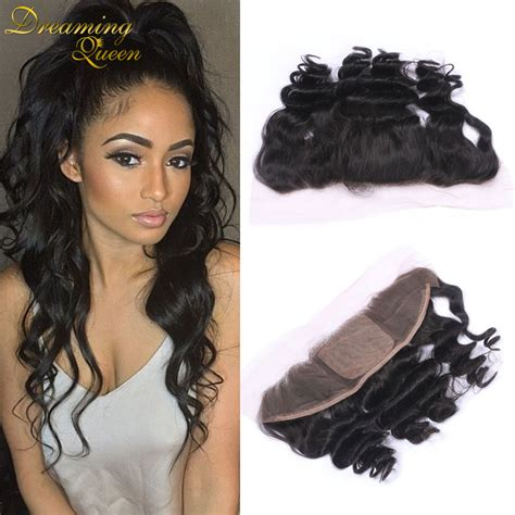 silk hair extension wave human wave human hair 13x4 silk base lace