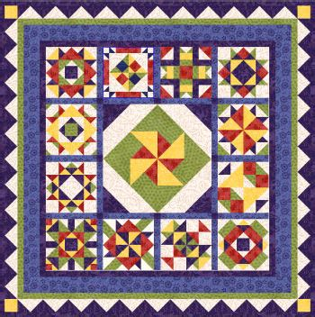 Free Patchwork Blocks - patchwork panache 2007 block of the month quilt free from