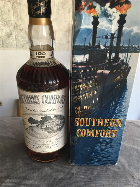how much is a bottle of southern comfort southern comfort 100 proof 1950s drinks planet