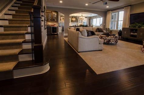 popular types  flooring  open floor plans home