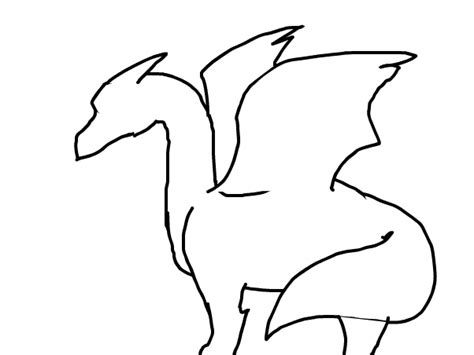dragon outline pictures clipart best