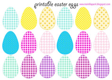 free printable cheerfully colored easter eggs