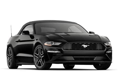 ford mustang ecoboost premium convertible sports car model details fordcom