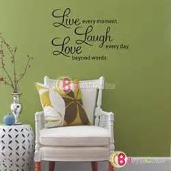 inspirational home decor hot diy pvc letters live laugh love room mural wall art