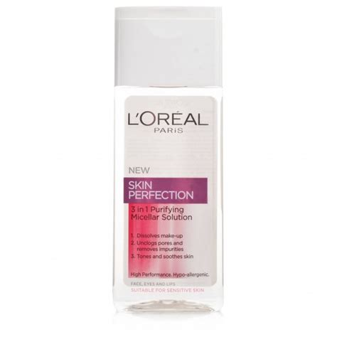 L Oreal Micellar Cleansing Water on a budget l oreal skin perfection micellar