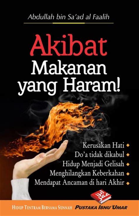 buku saku akibat makanan yang haram toko muslim title