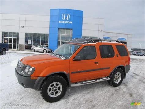 2003 atomic orange nissan xterra xe v6 4x4 41632110 gtcarlot car color galleries