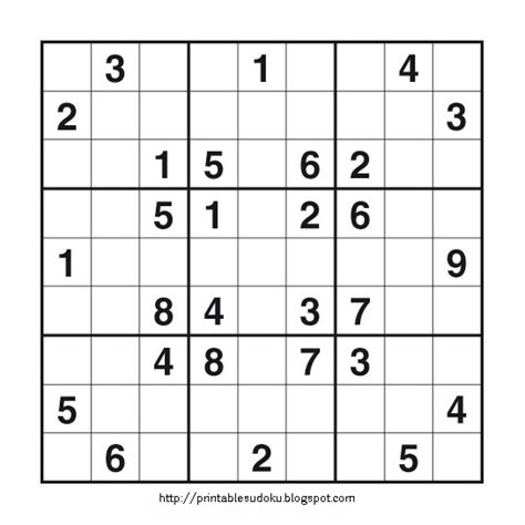 free printable variety sudoku printable sudoku