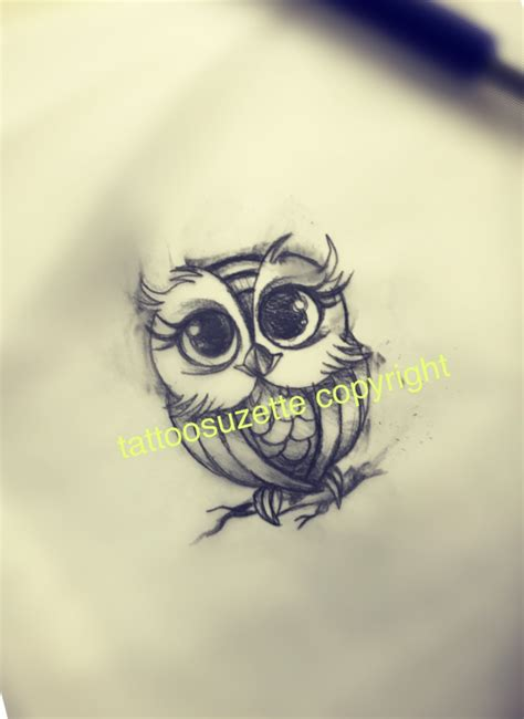 little owl tattoo design tattoos pinterest owl