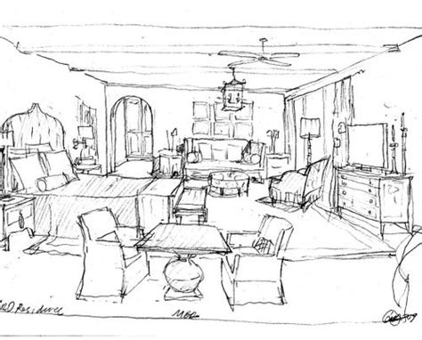 how to draw interior design interior design bedroom sketches for ideas