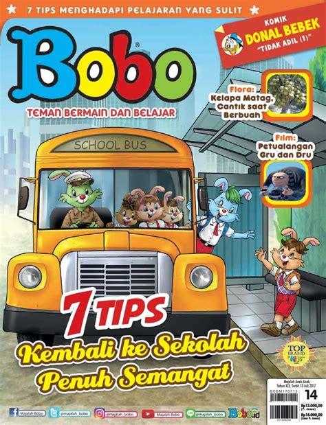 layout majalah bobo jual majalah bobo ed 14 juli 2017 scoop indonesia