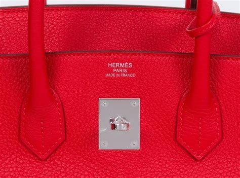 Hermes H 2639 hermes new birkin bag 35cm tomate for sale at 1stdibs