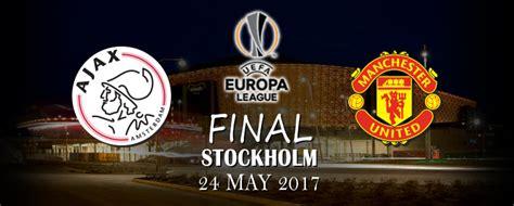 Mdt Europa League Stockholm 2017 Ajax Vs Manchester United 1 ajax manchester united stockholm 2017 uefa europe league