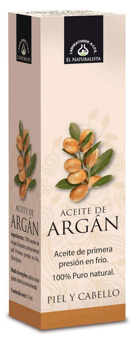 De Argan el naturalista aceite de arg 225 n