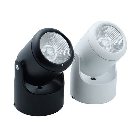 Ceiling Mounted Spot Light 10w 20w Cob Led Downlights Surface Mounted Ceiling Spot Light 180 Degree Rotation Ceiling