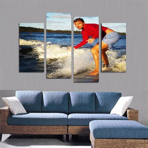 canvas print without frame 4 panel split canvas photo printz