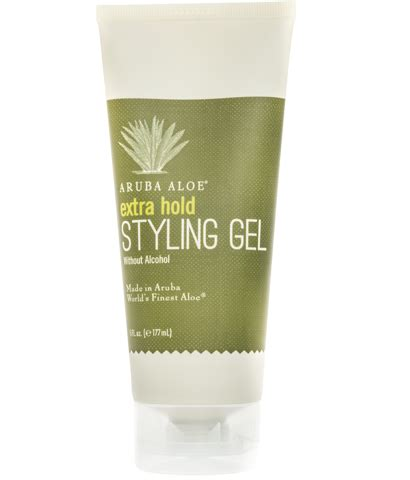 styling gel without alcohol aruba aloe hair care collection aruba aloe