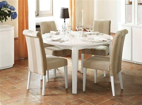 modern round dining room sets rs floral design the modern white round dining table ideas rs floral design