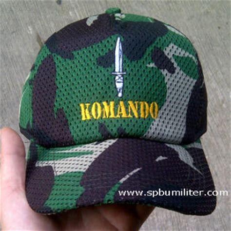 Topi Rimba Loreng Perbakin Au topi pisau komando kopassus loreng hijau spbu militer