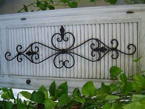 iron outdoor wall decor diy calm and charming outdoor