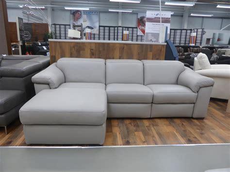 natuzzi grey leather sofa natuzzi b760 sensor grey 20jk power reclining leather sofa