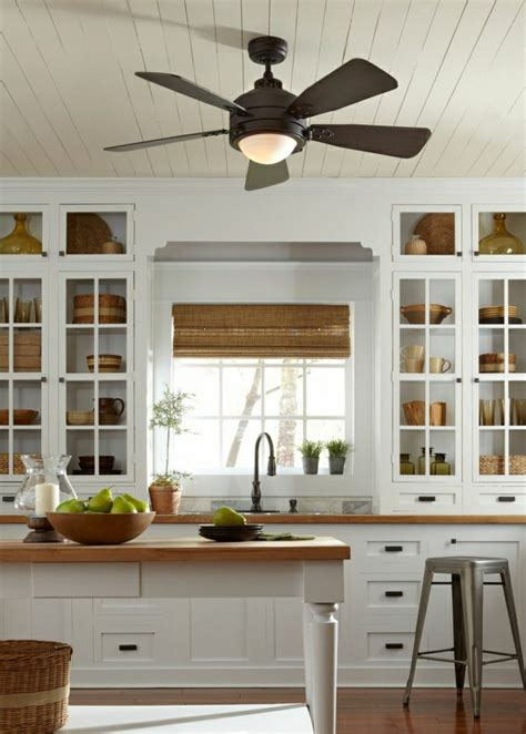 kitchen ceiling fan ideas le ventilateur de plafond toujours 224 la mode