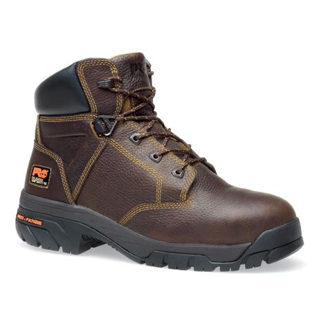 safety toe boots s 6 quot timberland pro 174 helix safety toe boots brown
