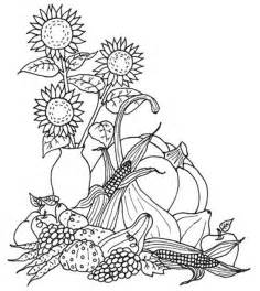 harvest coloring pages harvest fruits fall leaves coloring pages printable
