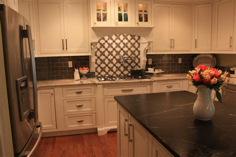 Soapstone Countertops Indiana - indiana granite and soapstone mix eclectic kitchen