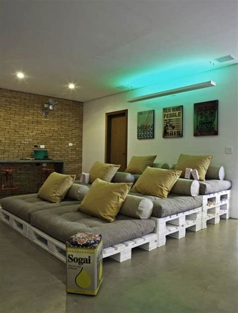 diy stadium style home theater seating   home