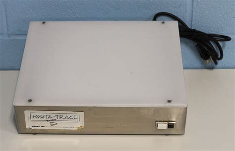 porta trace light box refurbished gagne porta trace 10 x 12 in light box