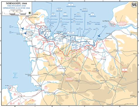 normandy map map of normandy my