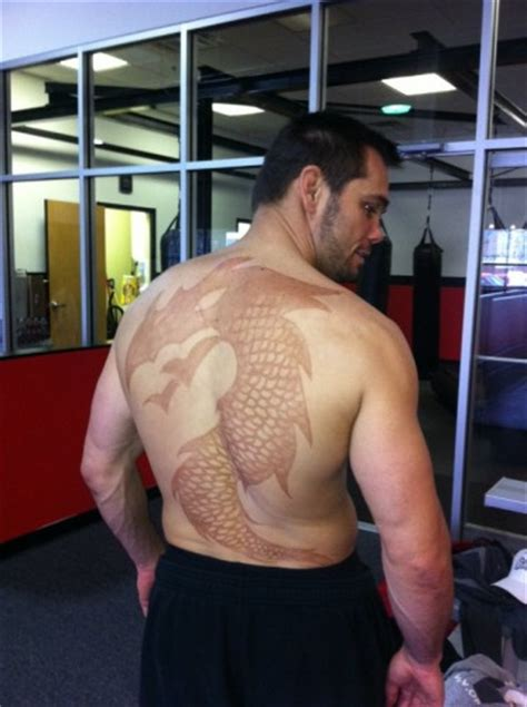 tattoo nightmares griffin rich franklin and forrest griffin s tattoo bet ends in
