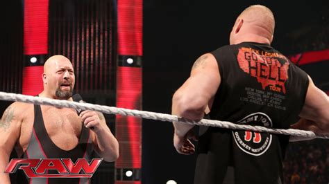 Tshirt Big Show brock lesnar lays waste to big show oct 5 2015