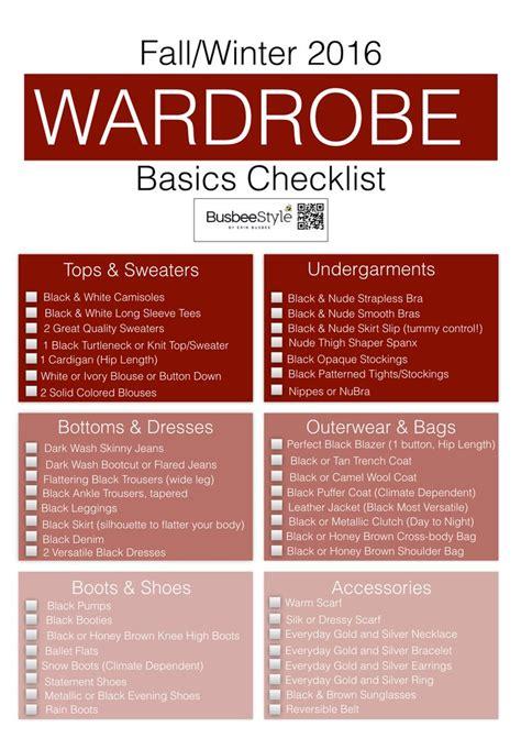 wardrobe essentials checklist best 25 wardrobe basics ideas on pinterest capsule