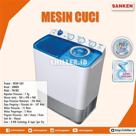 Harga Tabung Pengering Sanken cek harga jual tw 882 mesin cuci 2 tabung sanken murah