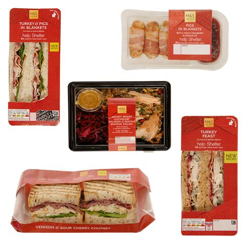 marks spencer has revealed its christmas sandwiches