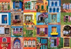colorful doors jigsaw puzzle puzzlewarehouse com 2000 2999 piece jigsaw puzzles puzzlewarehouse com