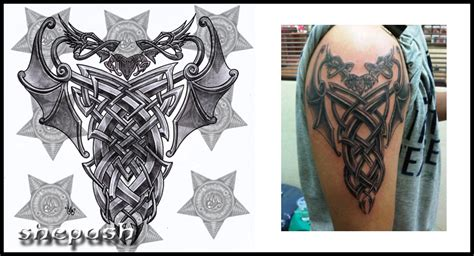 celtic dragon tattoo tattoo collections